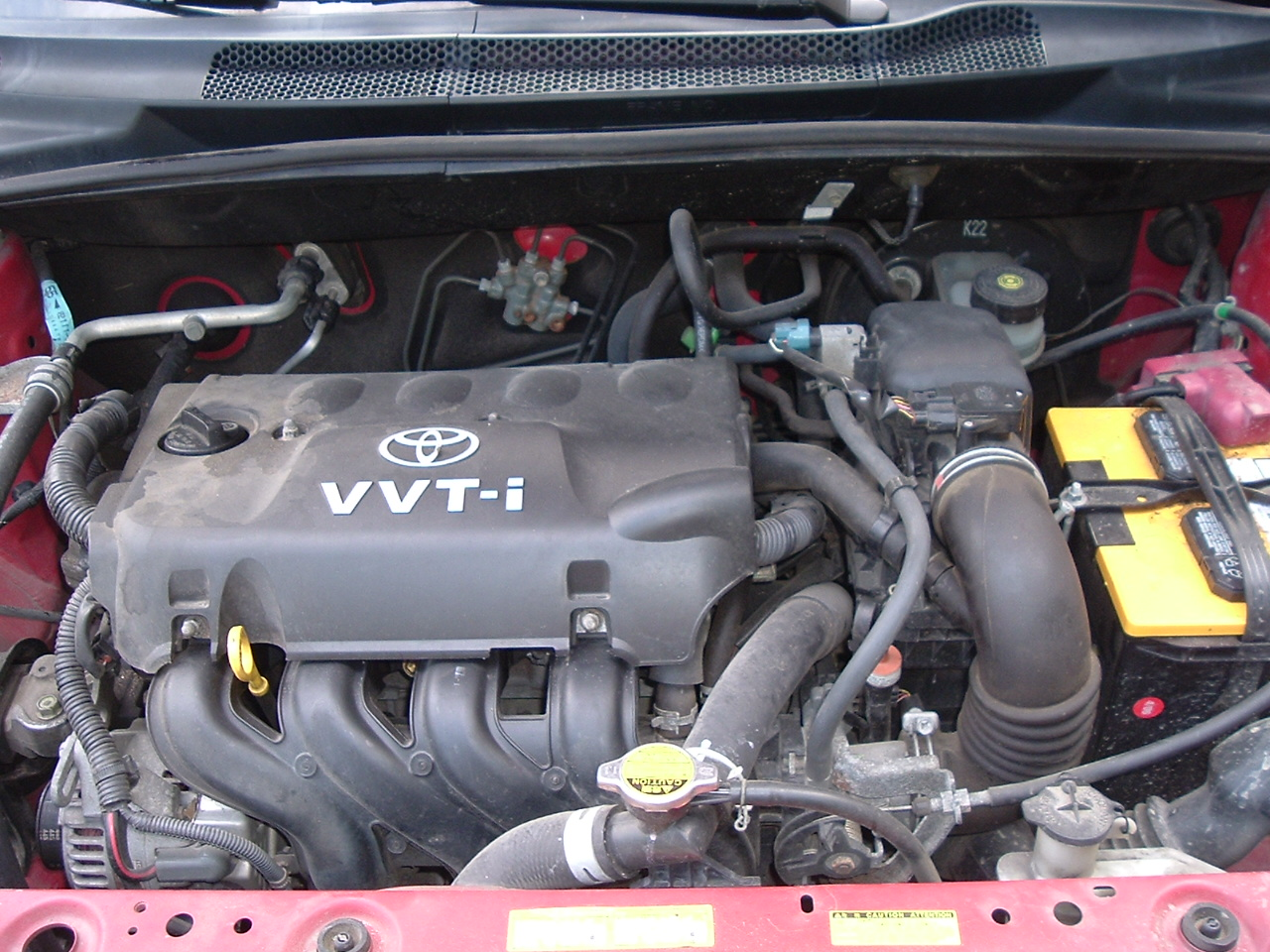 Toyota ECHO engine #1