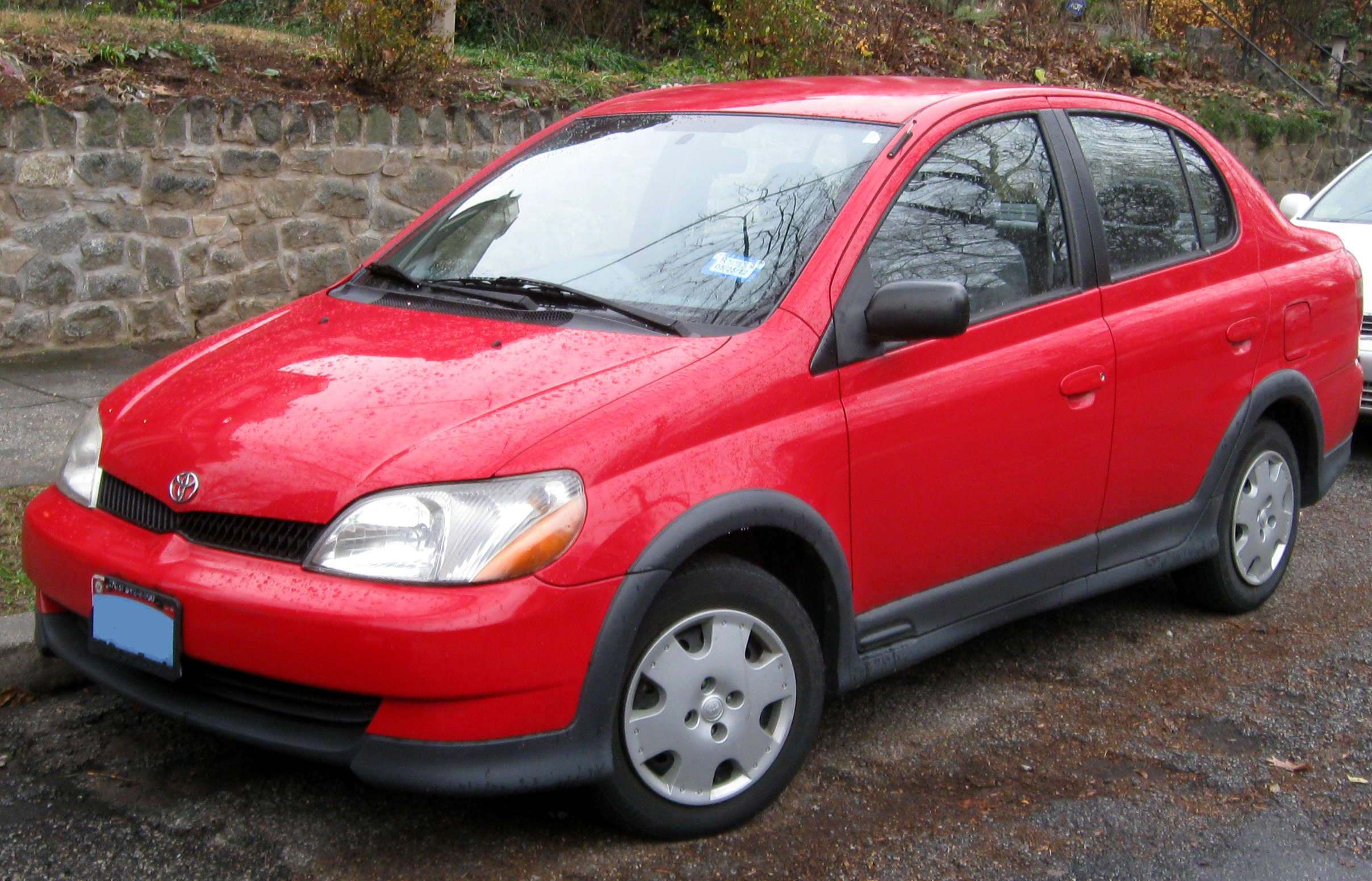 Toyota ECHO red #4