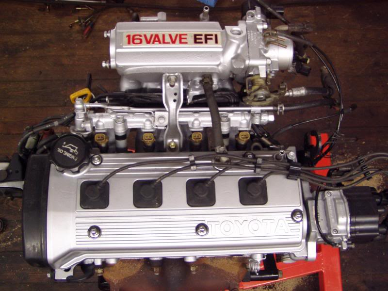 Toyota Paseo engine #4