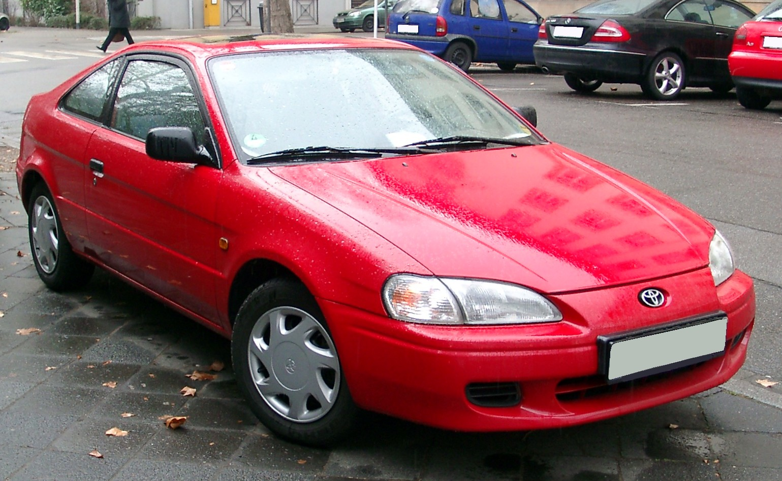 Toyota Paseo red #3
