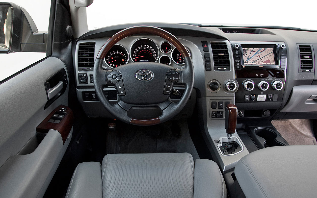 Toyota Sequoia interior #1