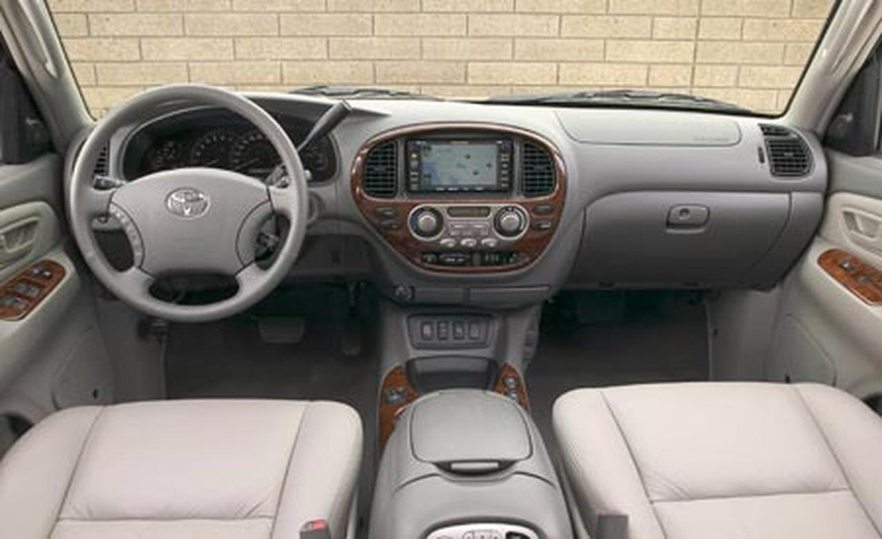 Toyota Sequoia interior #3
