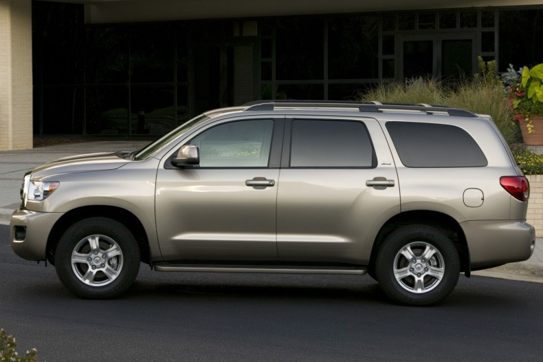 Toyota Sequoia red #1