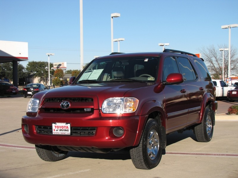Toyota Sequoia red #2