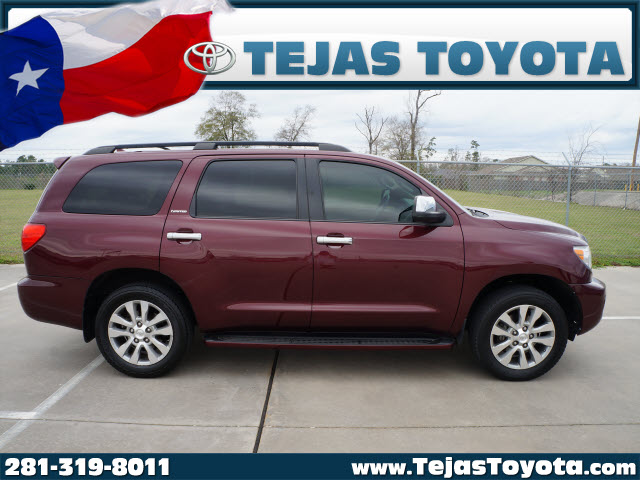 Toyota Sequoia red #3