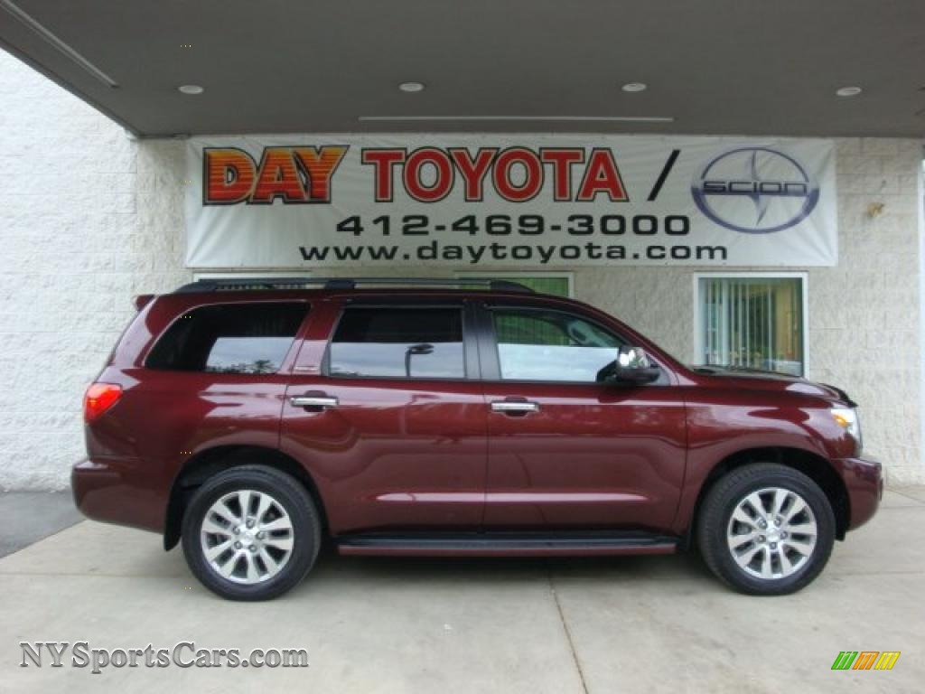 Toyota Sequoia red #4