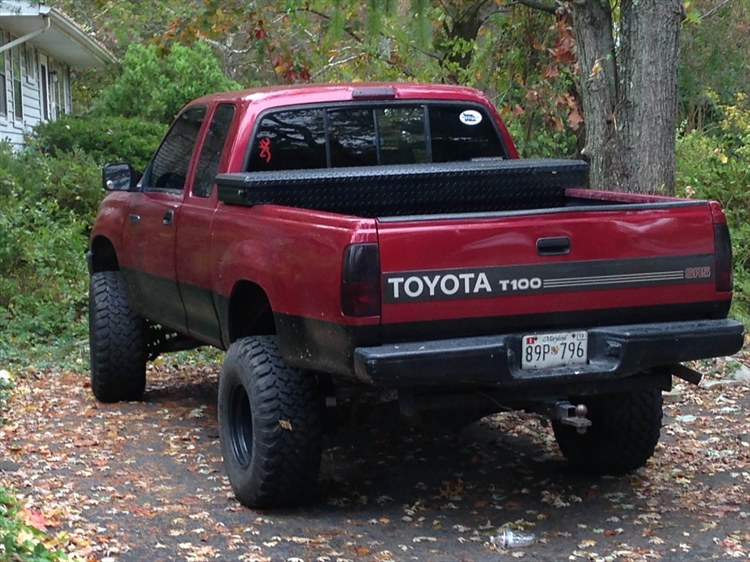 Toyota T100 red #2