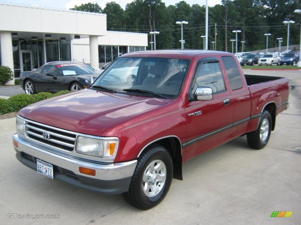 Toyota T100 red #4