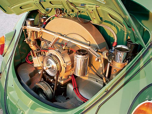 Volkswagen Beetle engine #2