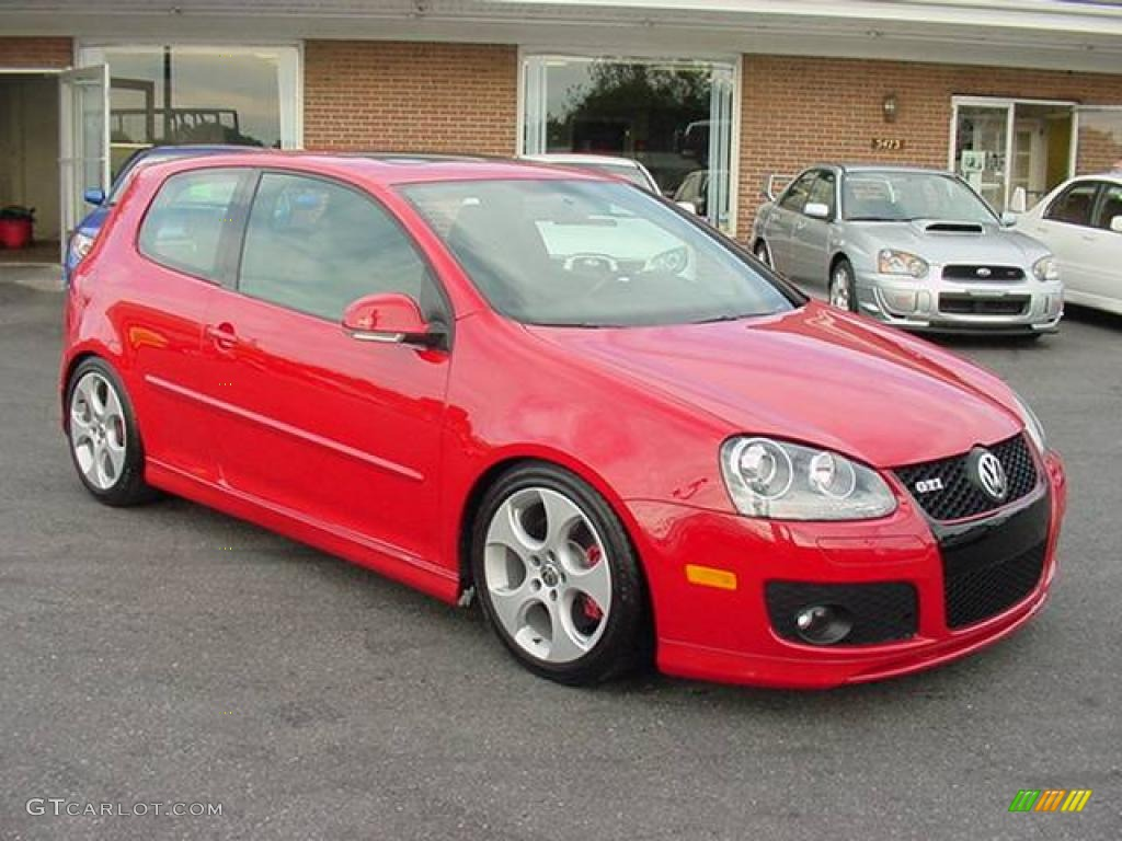 Volkswagen GTI red #1