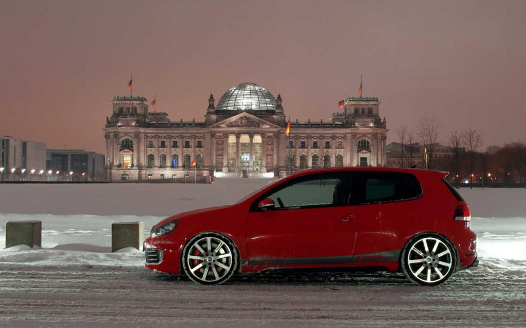 Volkswagen GTI red #3