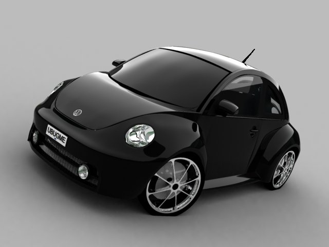 Volkswagen New Beetle black #1