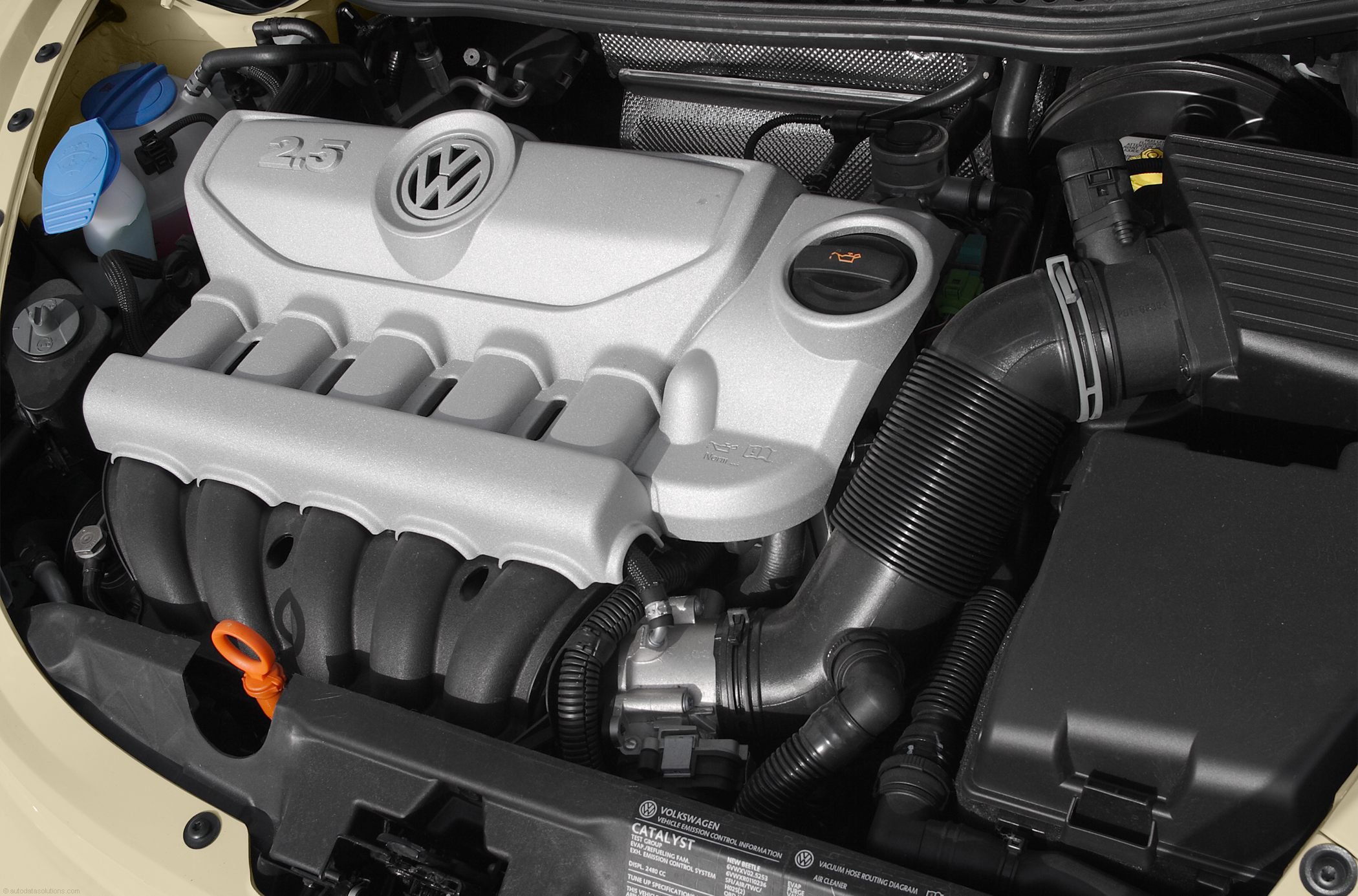 Volkswagen New Beetle engine #2