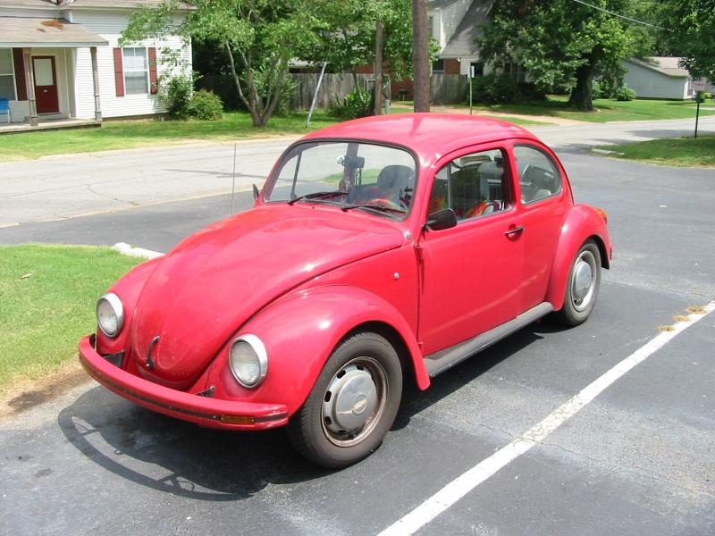 Volkswagen New Beetle red #2