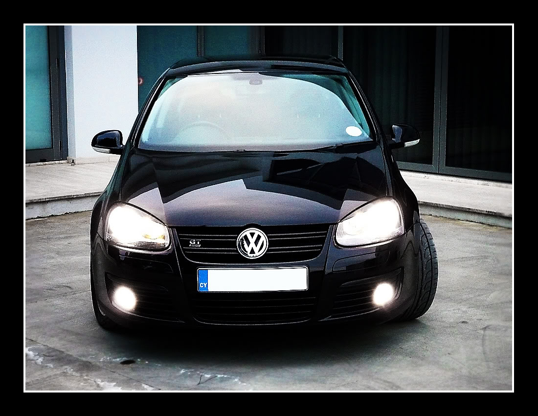 Volkswagen Rabbit black #3