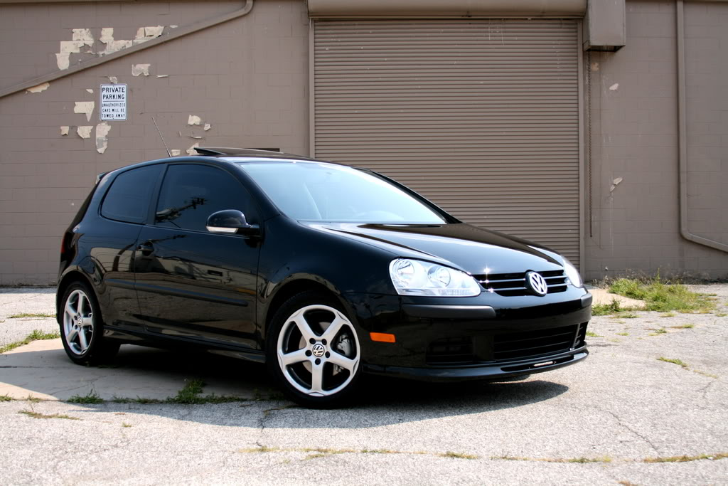 Volkswagen Rabbit black #1