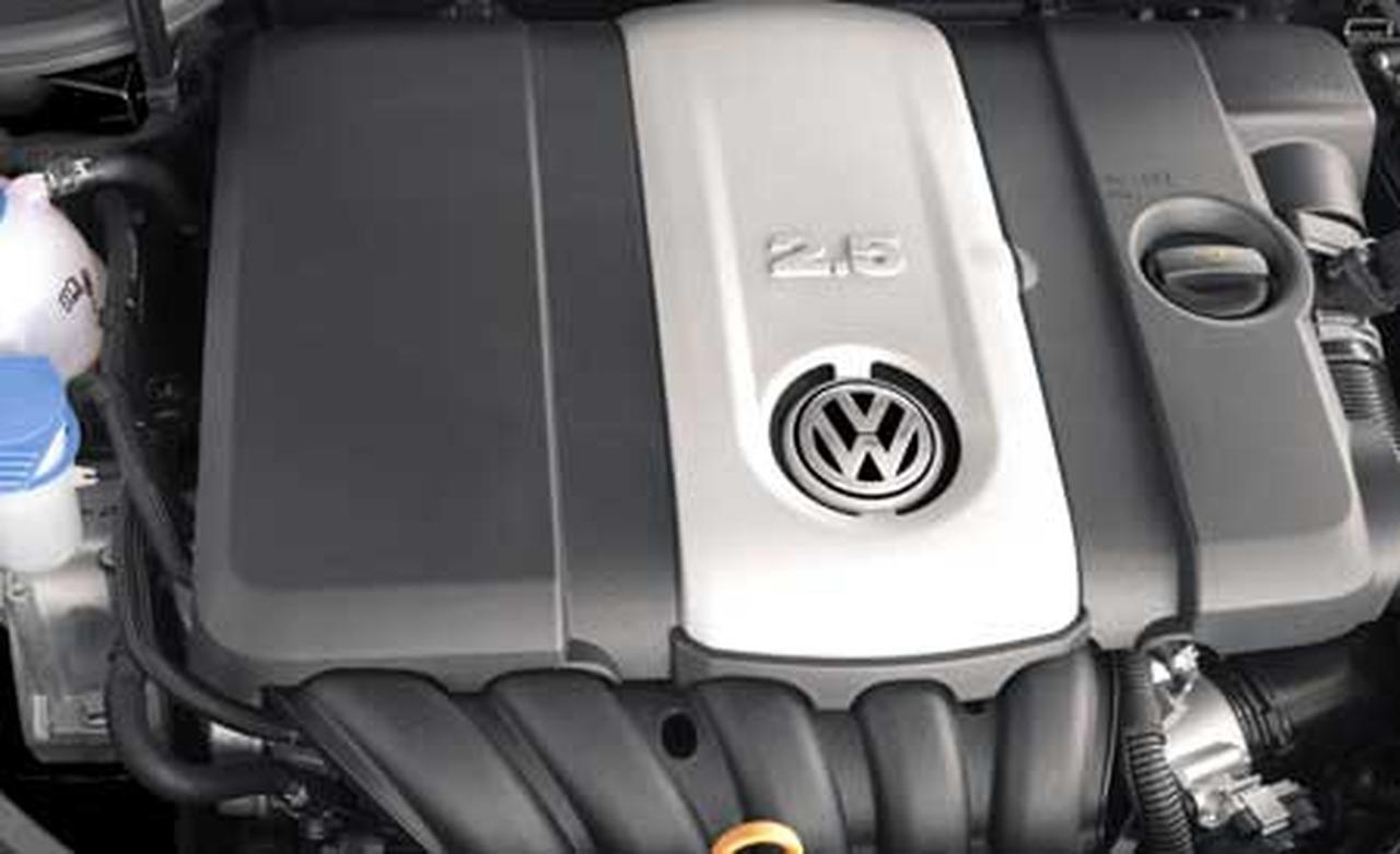 Volkswagen Rabbit engine #1