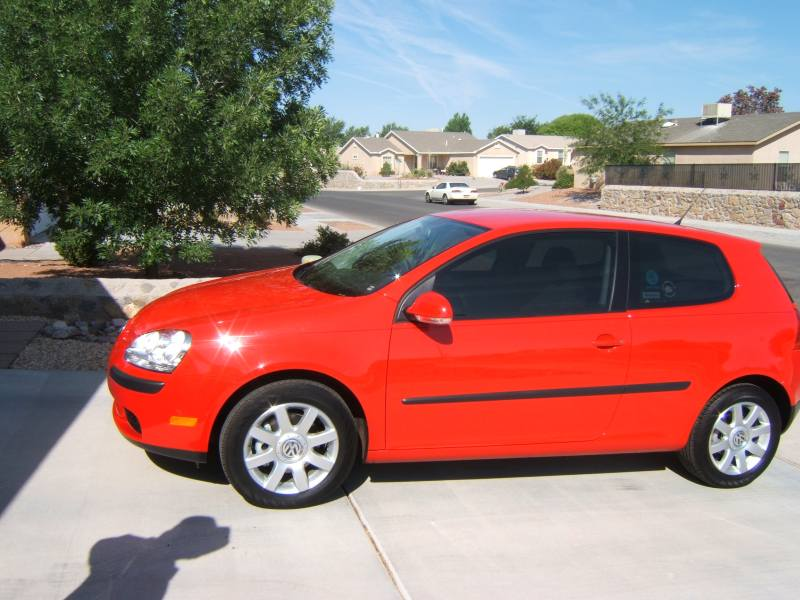 Volkswagen Rabbit red #3