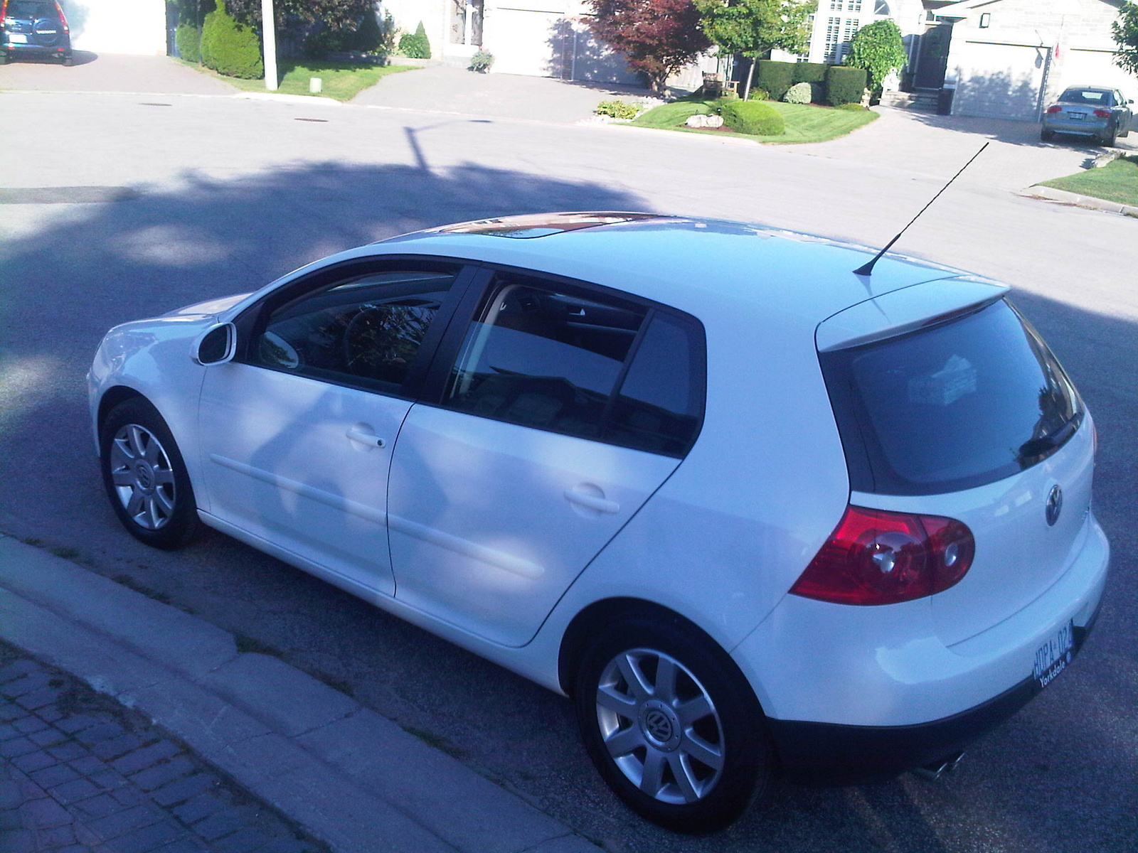 Volkswagen Rabbit white #2