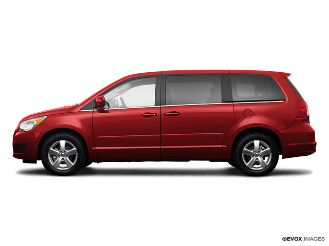 Volkswagen Routan red #3