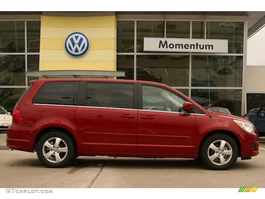 Volkswagen Routan red #4