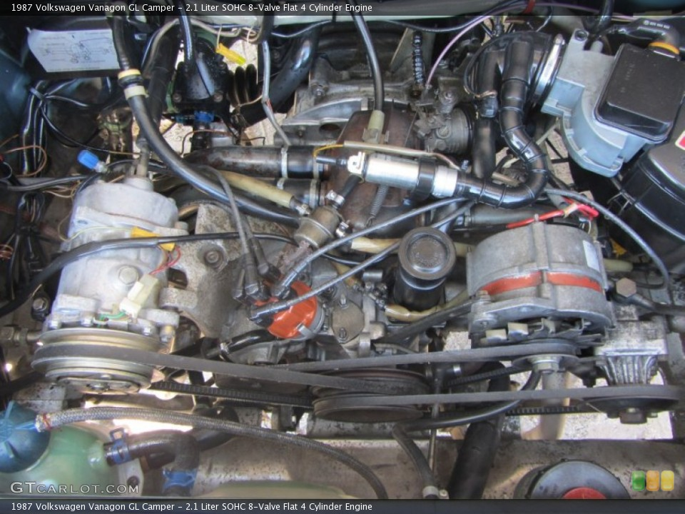 Volkswagen Vanagon engine #4