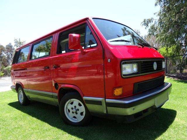 Volkswagen Vanagon red #2