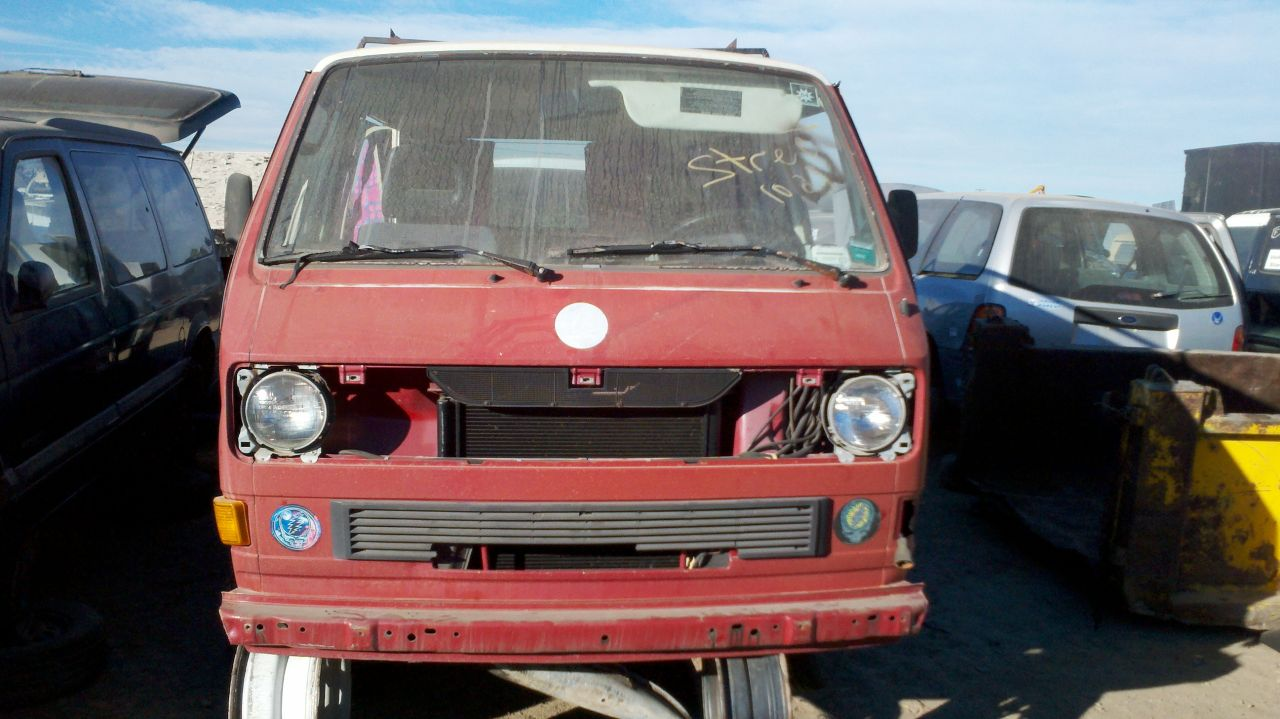 Volkswagen Vanagon red #4