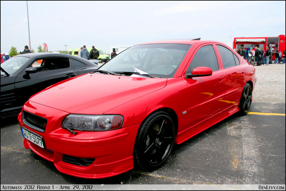 Volvo S60 red #2