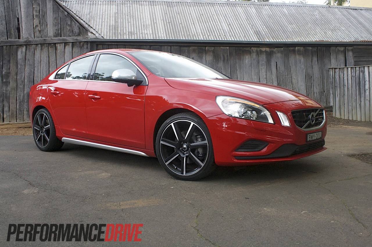 Volvo S60 red #3