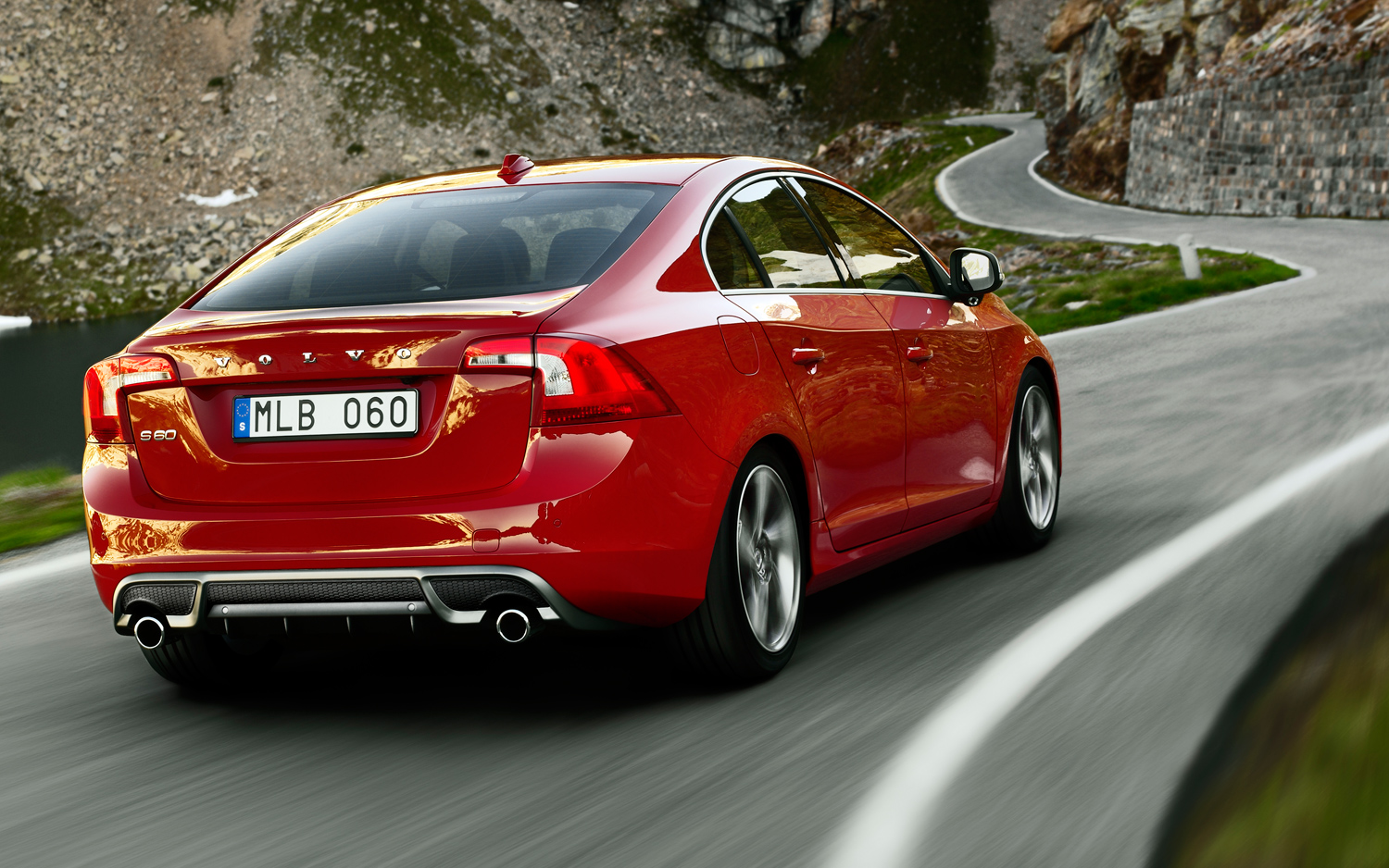 Volvo S60 red #4