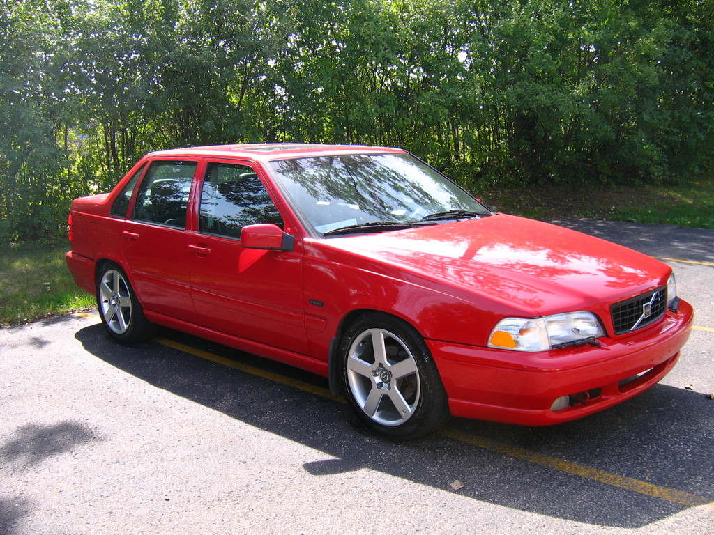 Volvo S70 red #1