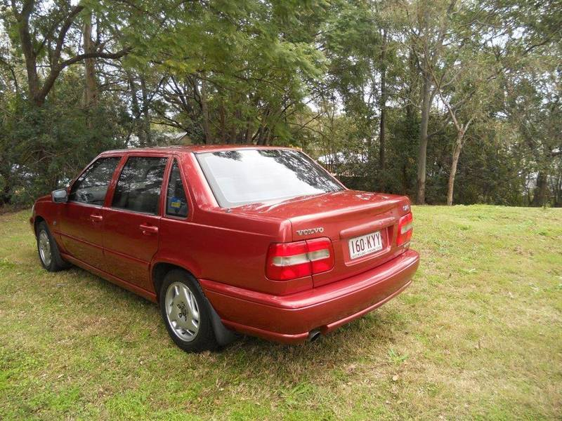 Volvo S70 red #4