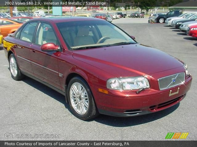Volvo S80 red #1